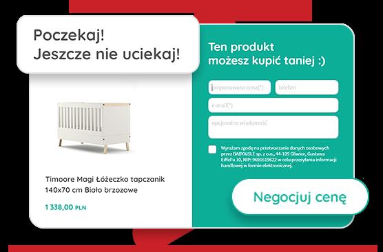 negocjacja ceny - babyland - sklep internetowy