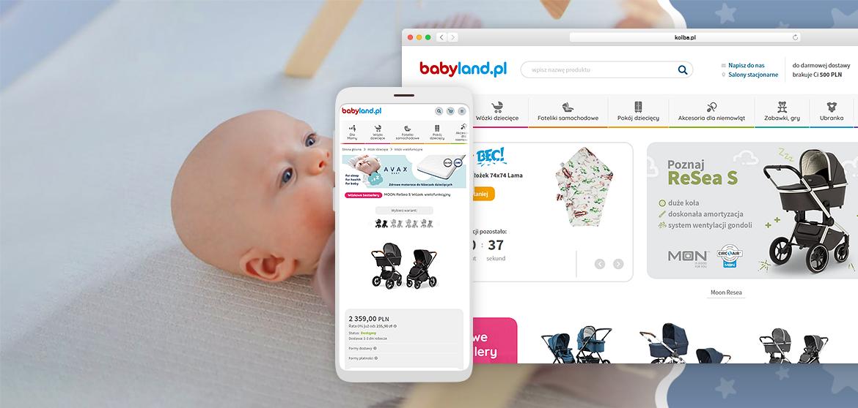 portfolio - babyland- obrazek wyróżniający